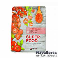 ENL SUPER FOOD Маска для лица тканевая EYENLIP SUPER FOOD TOMATO MASK  23мл