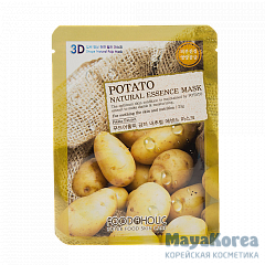 Маска для лица FoodaHolic Potato Natural Essence Mask