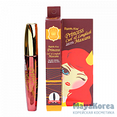 "FarmStay Princess Curl&Longlash Mascara, 12g Тушь для ресниц ""Princess"" подкручивание и длина, 12 гр, FarmStay"