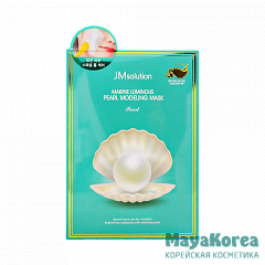 JM SOLUTION MARINE LUMINOUS PEARL MODELING MASK Альгинатная маска с экстрактом жемчуга55гр