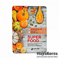 ENL SUPER FOOD Маска для лица тканевая EYENLIP SUPER FOOD PUMPKIN MASK 23мл