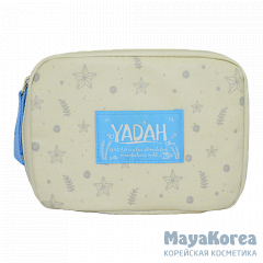 ЯДХ Косметичка YADAH NATURAL IT POUCH BLUE
